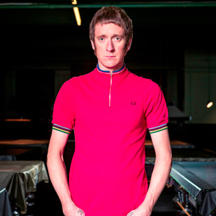BRADLEY WIGGINS X @FREDPERRY