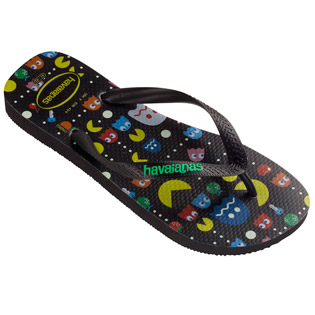 #FOOTWEAR @HAVAIANAS PAC-MAN